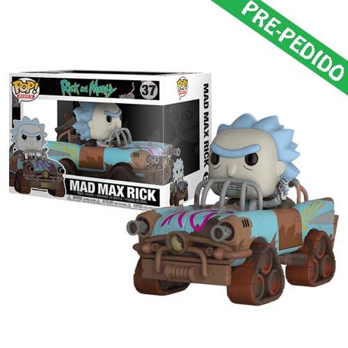 funko pop rick and morty mad max rick