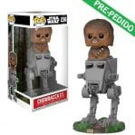 funko pop star wars chewbacca at-st