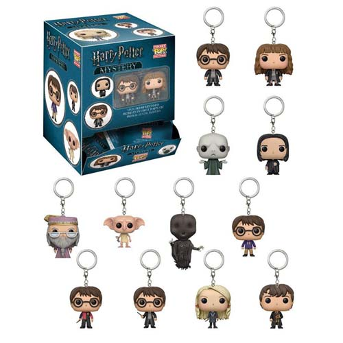 llavero mini funko pop harry potter sorpresa