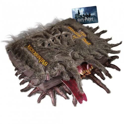 réplica monstruoso libro de los monstruos harry potter