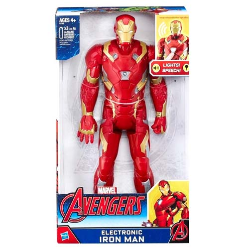 figura iron man marvel