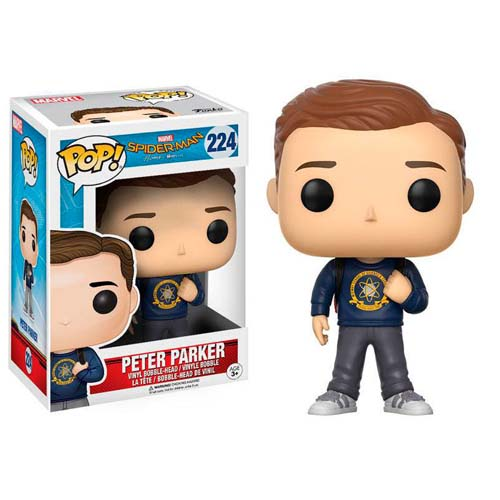 funko pop spiderman homecoming peter parker