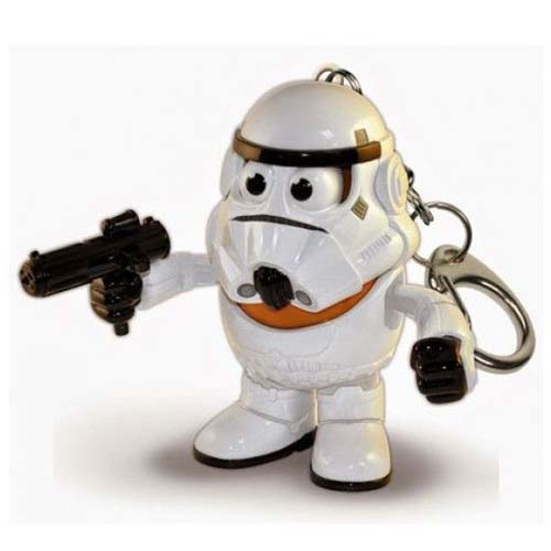 llavero star wars stormtrooper potato