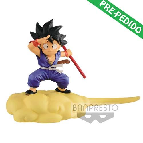 figura son goku flying nimbus special color