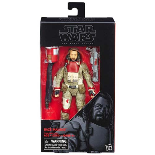 figura star wars black series baze malbus rogue one