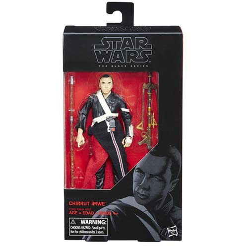 figura star wars black series chirrut rogue one