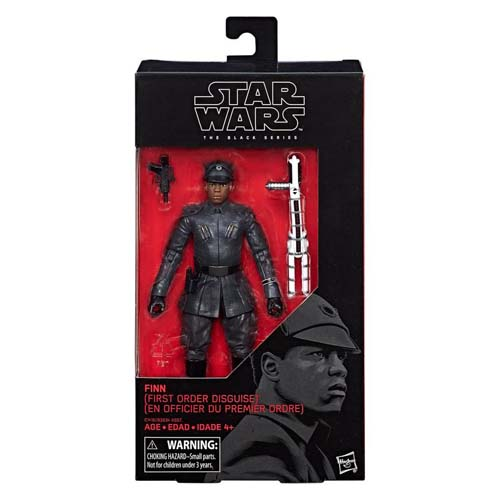 figura star wars black series finn primera orden