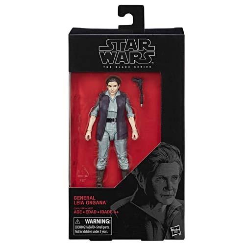 figura star wars black series general leia organa