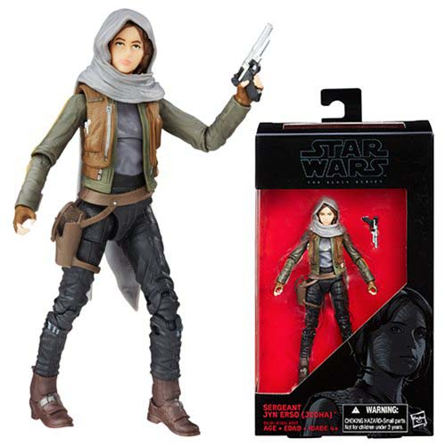 figura star wars black series jyn erso