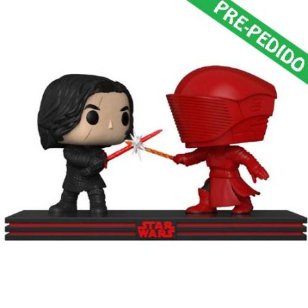 funko pop star wars kylo ren y guardia pretoriano
