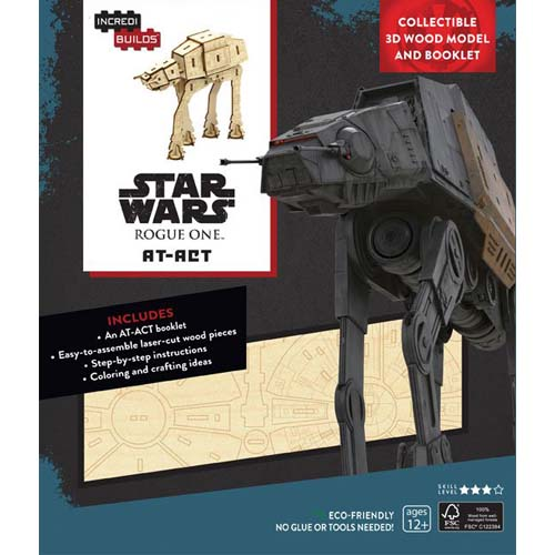 maqueta star wars at-act
