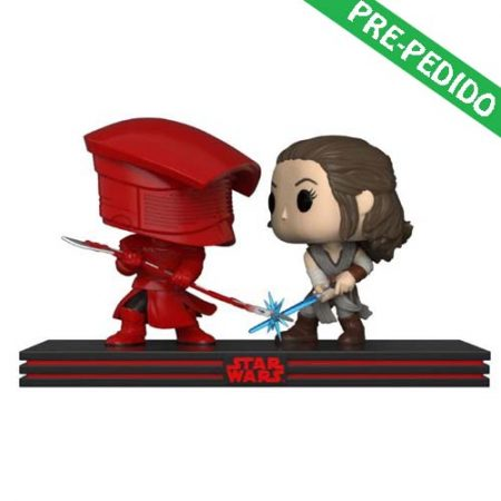 pack funko pop star wars rey y guardia pretoriano