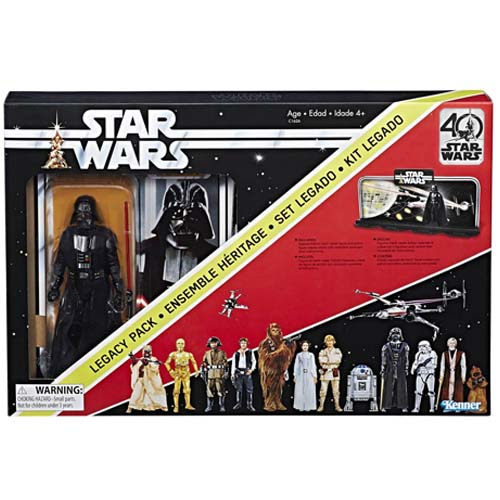pack star wars black series darth vader 40 aniversario