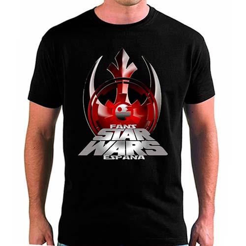 camiseta fans star wars españa