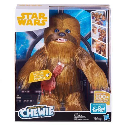 peluche interactivo chewbacca hasbro star wars