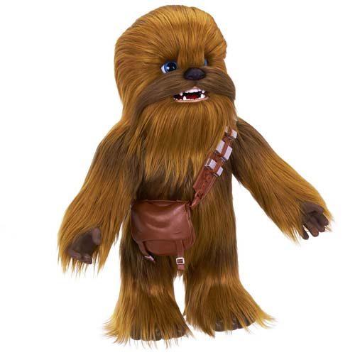 peluche interactivo chewbacca star wars hasbro