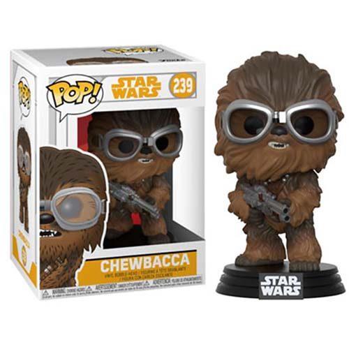 funko pop chewbacca with goggles star wars solo