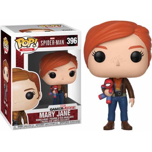 funko pop mary jane with plush spiderman