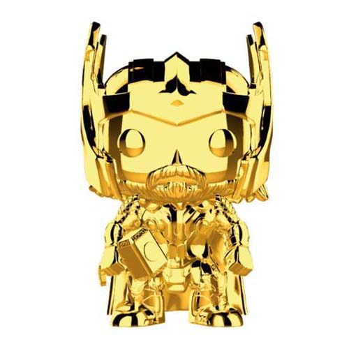 funko pop thor chrome marvel 10