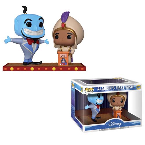 funko pop aladdin y Genio Movie Moments Disney