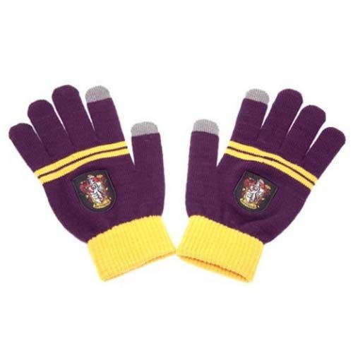 guantes táctiles gryffindor harry potter