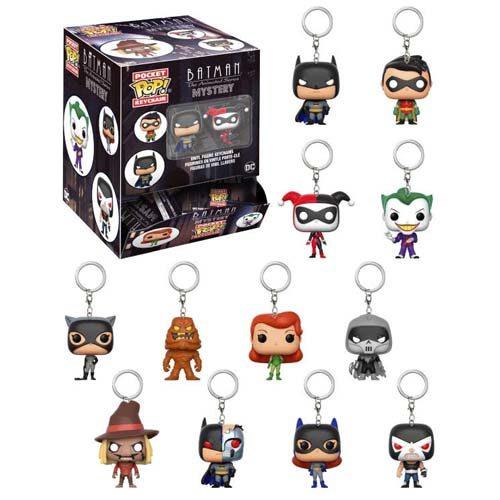 llaveros funko mystery minis batman animated series