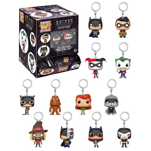 llaveros funko mystery minis batman animated series