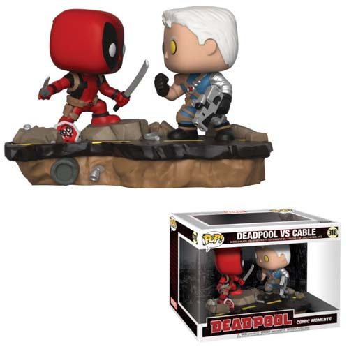 pack funko pop deadpool vs cable marvel