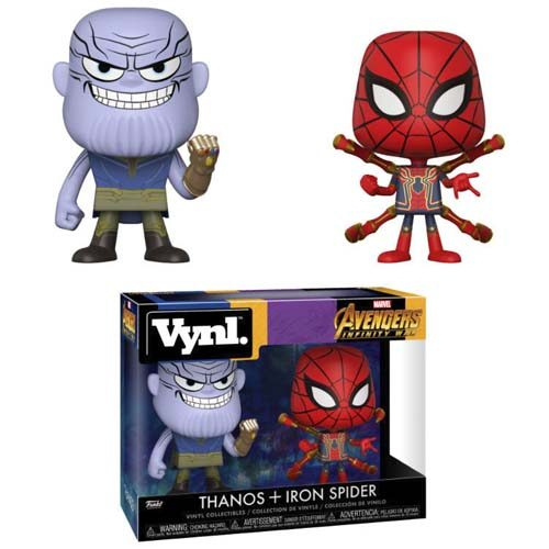 pack funko thanos iron spider marvel