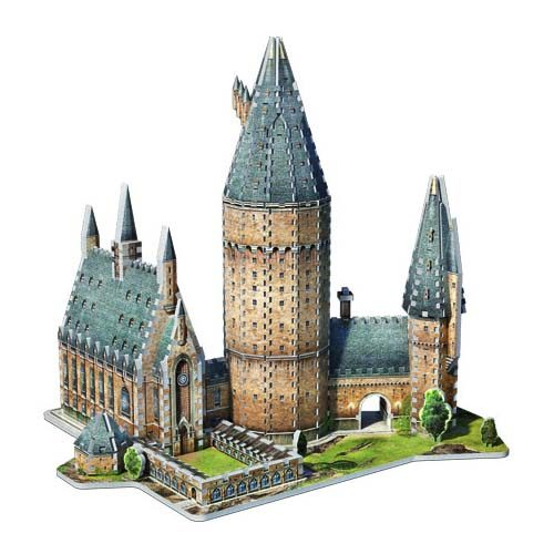 puzzle 3d gran salón hogwarts harry potter