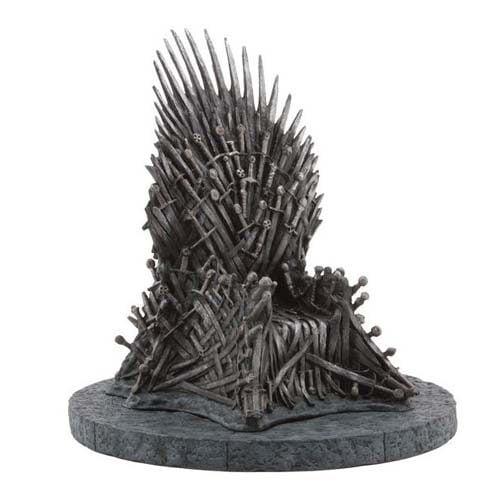 replica trono de hierro juego de tronos 23 cm
