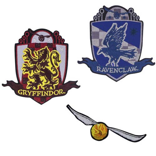 set de parches quidditch harry potter