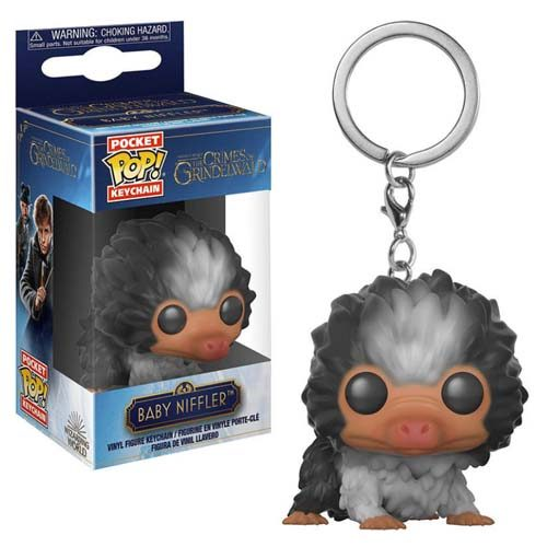 llavero funko pop baby niffler bn animales fantasticos 2 harry potter