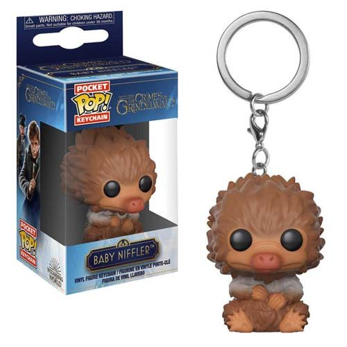 llavero funko pop baby niffler animales fantasticos 2 harry potter