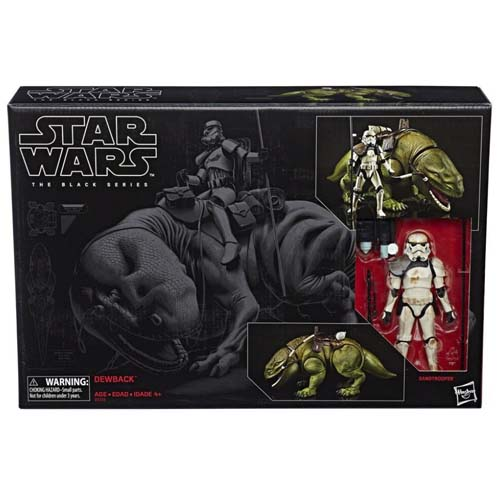 black series dewback star wars 3
