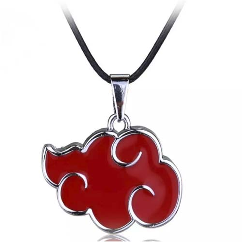 colgante collar naruto nube roja