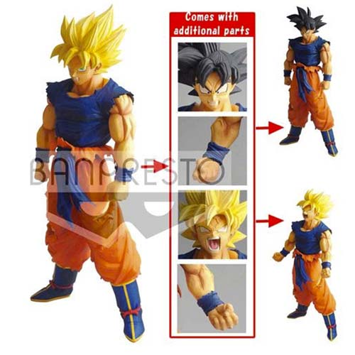 figura banpresto legend battle goku dragon ball 3
