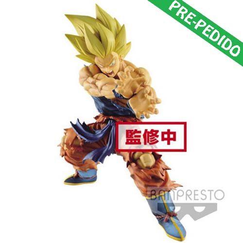 figura banpresto legends collab goku kame dragon ball