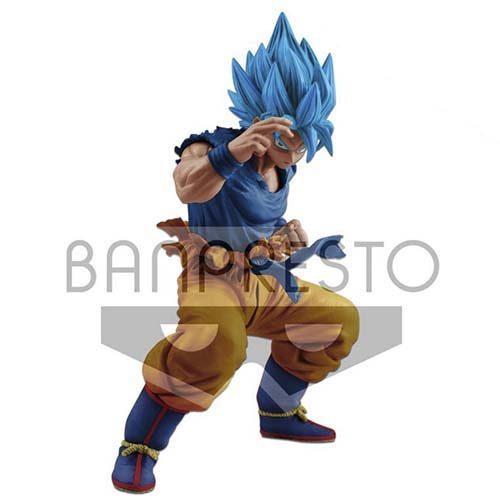 figura banpresto son goku super saiyan blue