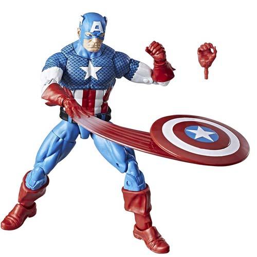 figura hasbro 15cm capitan america marvel