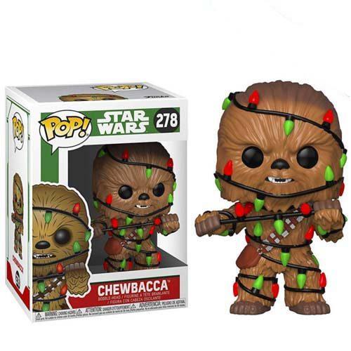 funko pop chewbacca star wars navidad