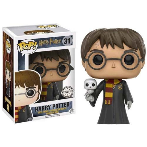 funko pop harry con hedwig harry potter