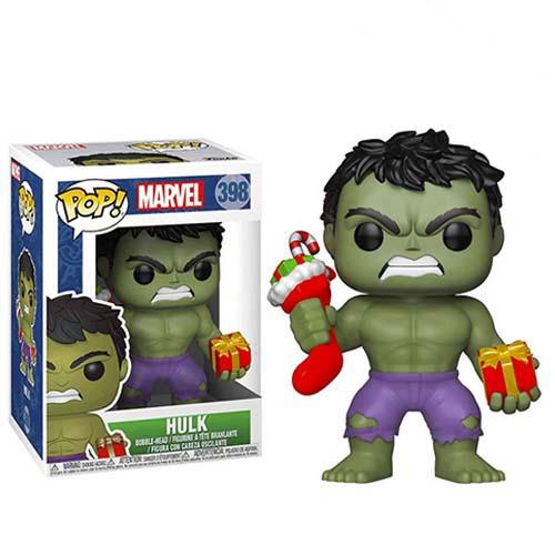 funko pop hulk navidad marvel