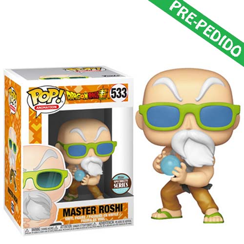 funko pop master roshi max power dragon ball