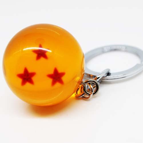 llavero dragon ball 3 estrellas