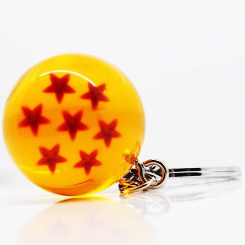 llavero dragon ball bola 6 estrellas