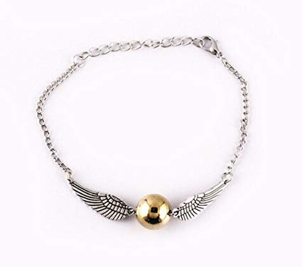 pulsera snitch harry potter plateada