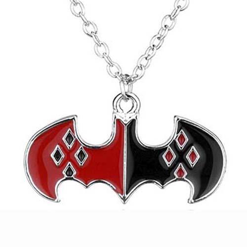 colgante rojo negro batman dc comics 1
