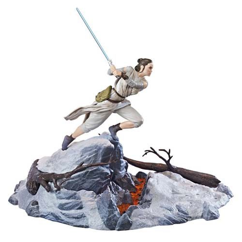 diorama rey starkiller base star wars black series