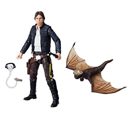 figura han solo black series star wars exclusiva